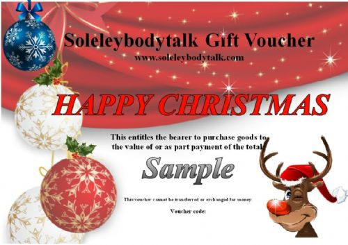Christmas E-card Gift vouchers